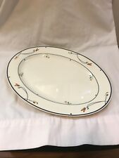 """Gorham Ariana 14.5"""" Oval Serving Platter large meat tray"""