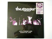 THE STOOGES LIVE AT GOOSE LAKE 1970 LP NEW SEALED VINYL IGGY POP