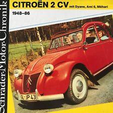 Citroën 2 CV, Dyane,Ami 6/8, Méhar 1948 -86 .Walter Zeichner