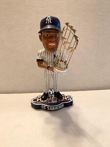 CC Cabathia NY Yankees World Series Champs Bobblehead FOCO Limited Edition 2009