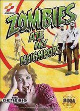 Zombies Ate My Neighbors (Sega Genesis, 1993) Complete CIB