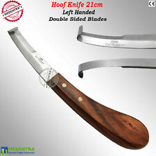 Horse Hoof Knife Farriers Knives Left Handed Equine Trimming Pet Grooming Tools