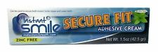 Instant Smile Secure Fit Denture Adhesive Bonding Cream 1.5oz tube