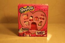 SWEET HEART COLLECTION valentines 6 EXCLUSIVES Choc Kiss SHOPKINS Chocky Box NEW