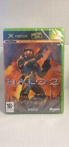 NEW SEALED Halo 2 Microsoft Xbox 2004 BNIB Complete SEE 12 PICS! RARE