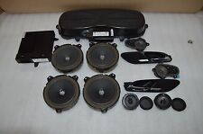 2001-2006 BMW E46 M3 HARMAN KARDON HK SOUND SET AMP DOOR SPEAKERS TWEETERS OEM