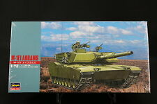 XO152 HASEGAWA 1/72 maquette tank char 31135 MT35 700 US Army M-1E1 Abrams NB