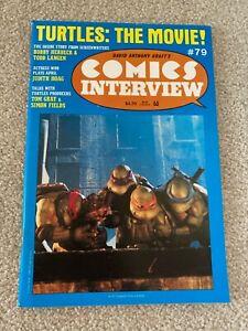 Comics Interview 79 Teenage mutant ninja turtles movie VF