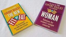 Lot of 2 Fitness Weight Loss Books Fit or Fat and Fit or Fat Woman Bailey Bishop