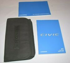 2017 HONDA CIVIC COUPE OWNERS MANUAL GUIDE BOOK SET WITH CASE OEM