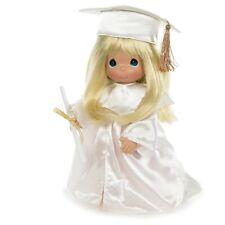 "Precious Moments Doll BLONDE The Graduate 12"" Doll Graduation"