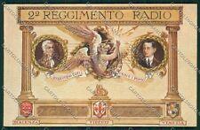 Bologna Marconi Reggimento Radio cartolina QQ9102
