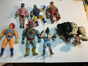 80's Action Figures Job Lot. T.wolf Etc
