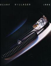 1999 Mercury Villager Original Car Sales Brochure Catalog