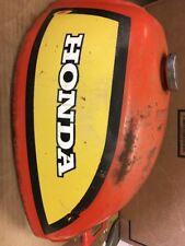 honda us90 us 90 atc90 atc 90 gas tank fuel oem orange yellow Original Paint
