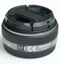 Silver Panasonic Lumix G 14mm f/2.5 Aspherical AF H-H014 Lens