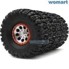 4pcs RC 2.2 Crawler Mud Tire Tyre 135mm & Aluminium Alloy 2.2 Beadlock Wheel Rim