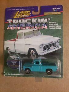 1955 Chevrolet Cameo Johnny Lightning  Truckin America No. 17 Original