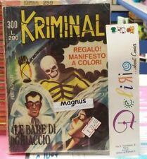 KRIMINAL N.300 Ed.CORNO - LE BARE DI GHIACCIO -  SCONTO 10%