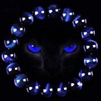 6MM Neutral Blue Tiger Eye Bracelets Men Natural Stone Charm Beads Bracelet