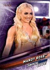 2019 Topps WWE SmackDown Live Purple #33 Mandy Rose /99 - NM-MT