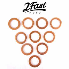2FastMoto Copper Crush Washer 10 Pack Disc Brake Line Washers Victory Buell