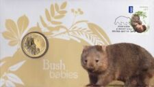 2013 $1 COIN AUSTRALIAN WOMBAT BUSH BABIES PNC UNCIRCULATED #2