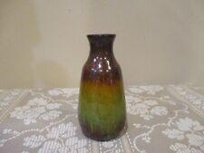 Glitter Bronze and Green Ceramic Bottle  (1pcs)