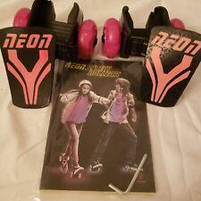 Yvolution Neon Street Rollers Pop N' Lock Flashing Heel Wheels Clip on Skates