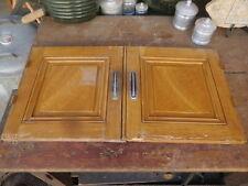 paire de portes anciennes meuble bois porte de buffet meuble ancien bahut