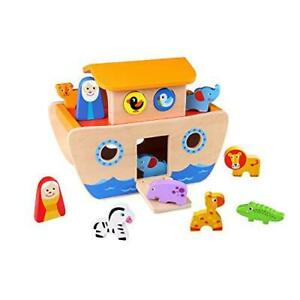 Tooky Toy Wooden Toys Noah's Ark