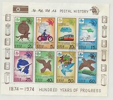KOREA 1978 POSTAL HISTORY COMP. SET OF 6 STAMPS SC#1675a CTO