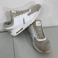 Nike Air Max Zero Essential Triple White 876070 100 Running Shoes Mens Size 11.5