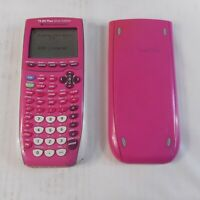 Texas Instruments TI-84 Plus Silver Edition Graphing Calculator - Pink