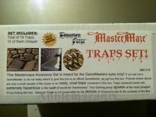 NEW Dwarven Forge TRAPS SET! MM-018 D&D Master Maze Resin Dungeon Tiles SEALED