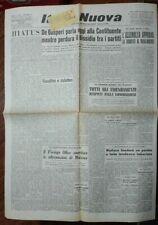 WW2*DE GASPERI DISCORSO ALLA COSTITUENTE *N.4054
