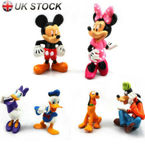 6Pcs Mickey Minnie Mouse Set Kid Toys Clubhouse Collection Figures Action Model