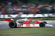 Bruno Giacomelli McLaren M26 British Grand Prix 1978 Photograph