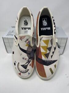 Vans MoMa Classic Slip-on Vasily Kandinsky Men's Size 13