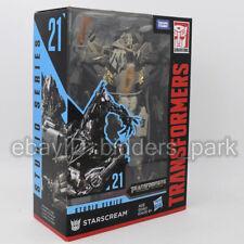 Transformers Hasbro Starscream Cybertron Studio Series 21 Action Figure In Stock