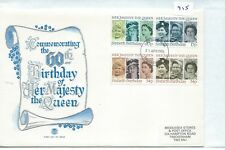 Gb - First Day Cover - Fdc - 915 - Specials - 1986 - Hm Queen'S 60th Birthday