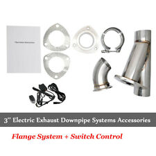 "3"" válvula de escape sistema eléctrico Catback bajante Remoto recorte e-conjunto de corte"