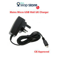 Mains Micro USB Wall Charger Socket 3 Pin Mobile Phone For Microsoft Nokia Lumia
