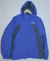 The North Face HyVent Rain~Snow Hooded Jacket SHELL Purple/Gray Womens Size L