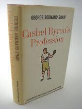 1st Edition thus Cashel Byron'S Profession George Bernard Shaw Rare Classic