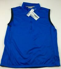 KJUS Men's Diamond Fleece Golf Vest 48 EU / Small Palau Blue (retail $169)