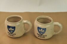 2 chopes anciennes Trappiste de Chimay vintage mugs