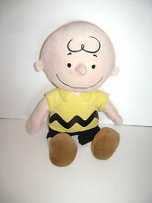 "Kohl'S Cares For Kids Peanuts Gang Charlie Brown Plush Stuffed Boy Toy 15"" Cute"