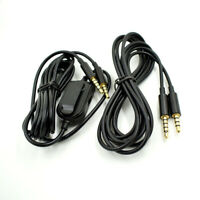 Gaming Headset Replacement Audio Cable Cord 2M 3.5mm Jack USA For Astro A10 A40