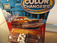 "Disney  Pixar CARS Movie Color Changers ""TEX DINOCO "" BROWN TO GOLDEN YELLOW !!"